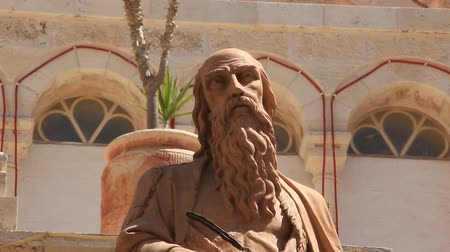 israelite : Statue in church of the Nativity in Bethlehem, Palestinian National Authority