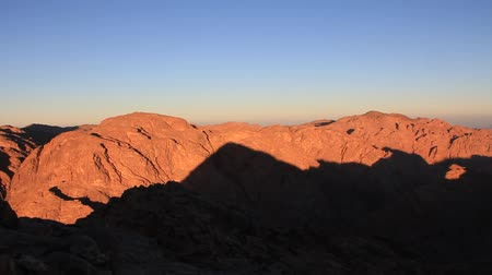 mussulman : Sunrise on Mount Sinai (Moses Mountain), Sinai Peninsula, Egypt. Mount Sinai, also known as Mount Horeb, is a mountain in the Sinai Peninsula of Egypt that is the traditional and most accepted identification of the Biblical Mount Sinai.