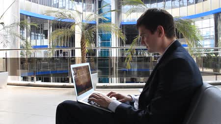bulmak : Businessman with personal computer