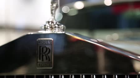 anual : UKRAINE, KIEV, SEPTEMBER 7, 2012: Rolls Royce at yearly automotive-show in Kiev, Ukraine