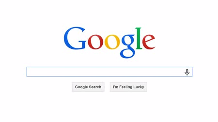 talep : USA, JULY 10, 2014: Google is American multinational corporation and the most popular search engine in the world. Google processes about 1 trillion search queries a year. Search for FINANCIAL MARKET