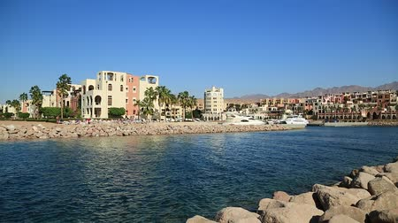 aqaba : Harbor in Tala Bay resort near Aqaba city, Hashemite Kingdom of Jordan
