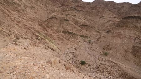 aqaba : Mountains near Aqaba city in Jordan. Amazing scenery of stony desert in Hashemite Kingdom of Jordan