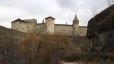 Old castle, stone fortress in Kamianets-Podilskyi city in western Ukraine, is the former Ruthenian-Lithuanian castle and a later three-part Polish fortress, located in the historic region of Podolia