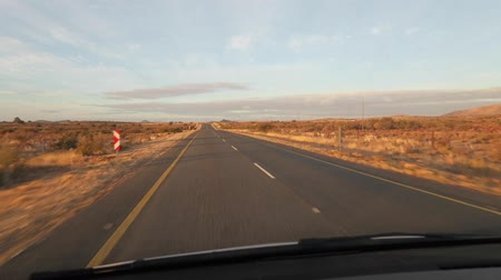 metin alanı : riving along a tar highway in the Northern Cape of South Africa