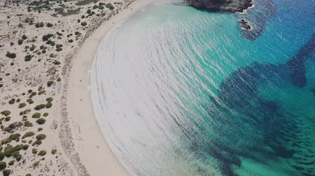 grecja : Greek beach from the air