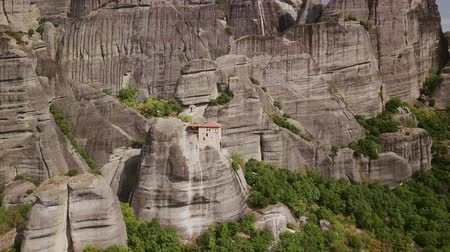 meteora : A famous church located on a rock