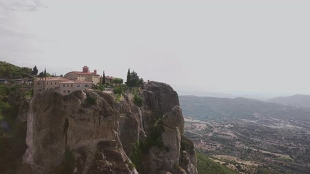 meteora : Greek mountains from the quadcopter