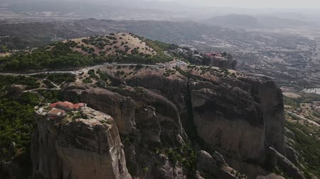 meteora : Landscape of the Meteora Mountains