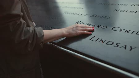 eleven people : Memorial day at the monument 911