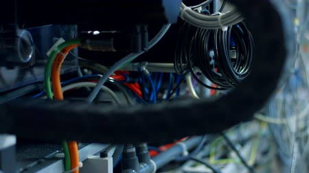 operational system : The side we dont see. Stock Footage