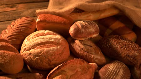 bagietka : Bread bakery background. Fresh crispy bread close up. Healthy diet concept.