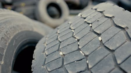 sobressalente : Close-up on a car tire