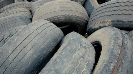fidedigno : Dump car tires, old tires.
