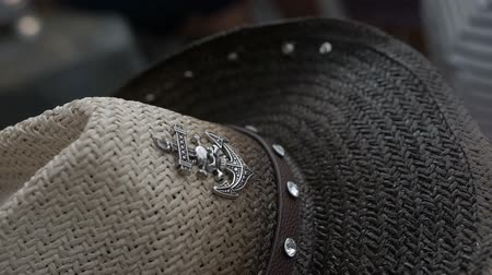 western wear : cowboy hat with an anchor logo
