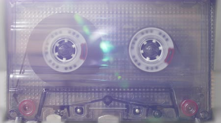 аналог : Casette Tape Deck Running With Light Leaks, Close Up, Background