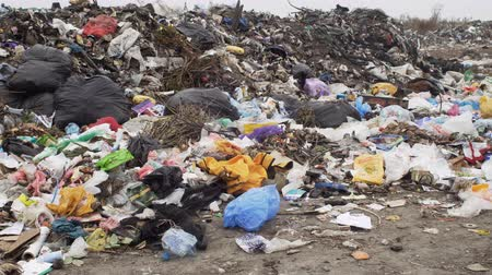recusar : The Environment, Garbage Dump, Pan Stock Footage