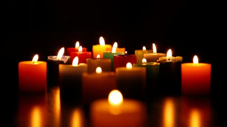 loved : candles burning for love.