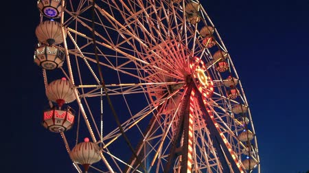 parky : Ferris wheel at amusement park