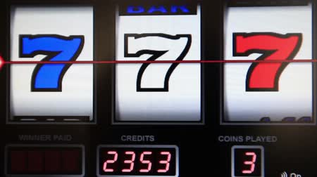 vencedor : slot machine series, wining any seven