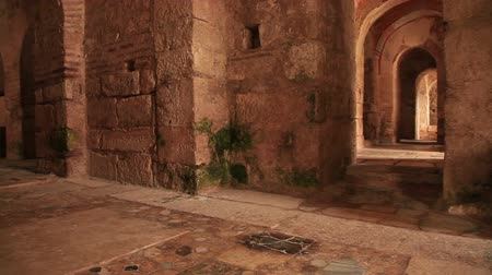 святой : Corridor of Saint Nicholas Church In Demre Antalya