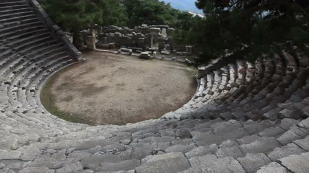 antalya : Ancient Amphitheater Of Arykanda