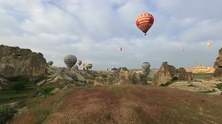 дымоход : air balloons tour in Cappadocia, Turkey