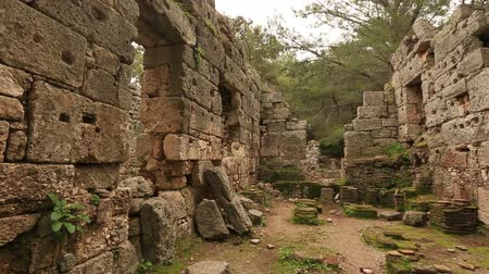 phaselis : 7th century BC Ancient Phaselis City at Turkey (bath)