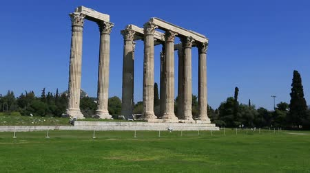 grego : Temple of Olympian Zeus at Athens Greece