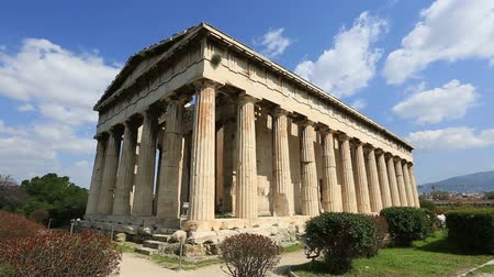 древний : Temple of Hephaestus ancient Greek in Athens Greece