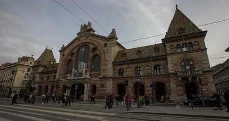 Central Market Hall and Budapest.
