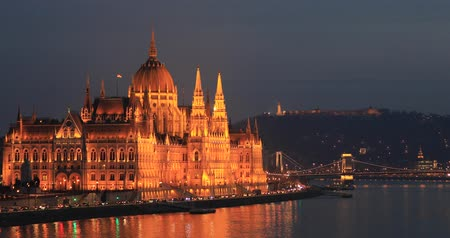 easterner : A view of the Hungarian Parliament building.