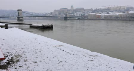 budapeste : Danube river and chain