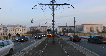railwayman : Traffic at Budapest, Hungary