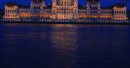 easterner : Old Hungarian Parliament building at night