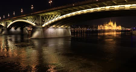 маргарита : The Danube Bridge in Budapest Hungary