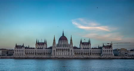 easterner : Old Hungarian Parliament building