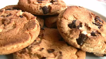bolachas : Yummy Chocolate chip cookies