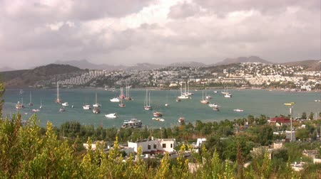 halicarnassus : View of Bodrum, Turkey