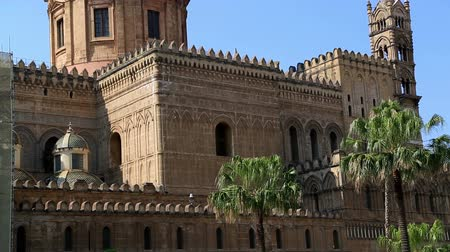 szicília : Cathedral of Palermo on Sicily in Italy