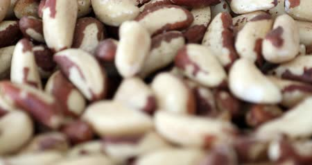 brazil : Bowl of Brazil nuts. Healthy and beneficial food