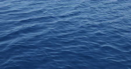 Deep blue sea water surface