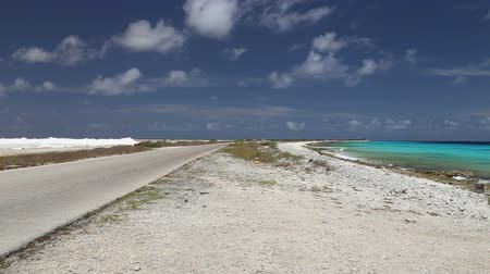 droga : road lake Caribbean Sea Wideo