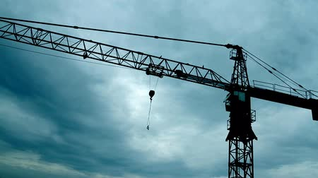 bouw : Crane - Construction Site - HD 1080p beelden