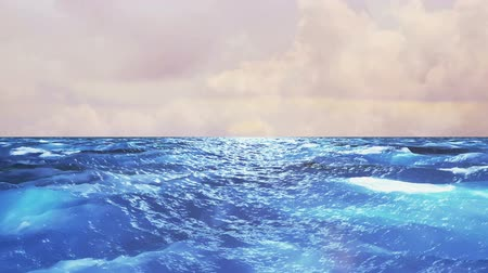furioso : Realistic Ocean, Abstract Loopable Background Vídeos