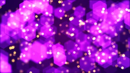 абстрактный фон : Abstract background of blurry hexagonal bokeh