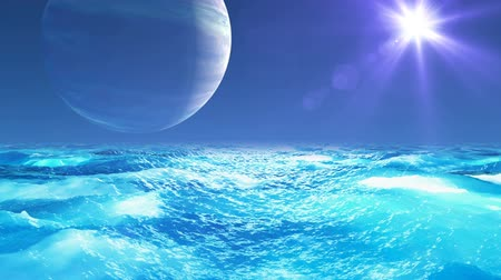 distante : Realistic Ocean on Exoplanet, Abstract Background