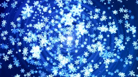 janeiro : Abstract loopable background with nice falling snowflakes