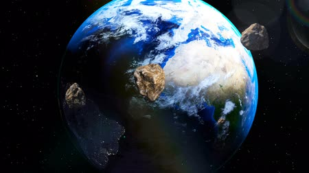 catástrofe : Asteroids coming close to Earth from deep space Vídeos