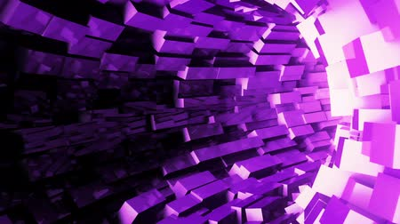 urdidura : Abstract background with animation of flight in sci-fi tunnel. Looped animation. Stock Footage